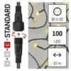 Kép 3/9 - EMOS Standard LED sorolható karácsonyi füzér, 5 m, kültéri és beltéri, meleg fehér, időzítő