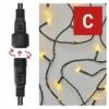 Kép 4/9 - EMOS Standard LED sorolható karácsonyi füzér, 5 m, kültéri és beltéri, meleg fehér, időzítő