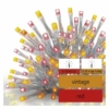Kép 5/5 - EMOS Standard LED sorolható füzér, pulzáló jégcsapok, 2.5 m, kültéri, piros/vintage, IP44