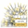 Kép 5/5 - EMOS Standard LED sorolható füzér, villogó jégcsapok, 2.5 m, meleg/hideg fehér, IP44