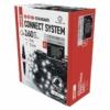 Kép 2/5 - EMOS Standard LED sorolható karácsonyi füzér háló, 1.5x2 m, hideg fehér, időzítő, IP44