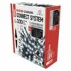 Kép 2/9 - EMOS Standard LED sorolható karácsonyi füzér fényfüggöny, 1x2 m, hideg fehér, időzítő, IP44