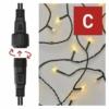 Kép 4/9 - EMOS Standard LED sorolható karácsonyi füzér fényfüggöny, 1x2 m, meleg fehér, időzítő, IP44