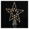 Kép 2/10 - EMOS Standard LED sorolható karácsonyi csillag, 28.5 cm, meleg fehér, időzítő, IP44