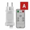 Kép 1/10 - EMOS Tápegység Standard/Profi karácsonyi sorolható füzérekhez, távirányítós, IP44