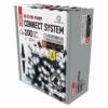 Kép 2/9 - EMOS Profi LED sorolható füzér, villogó, 10 m, hideg fehér, időzítő, IP44