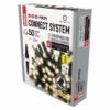 Kép 2/10 - EMOS Profi LED sorolható füzér, fekete, 5 m, meleg fehér, időzítő, IP44