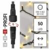 Kép 4/10 - EMOS Profi LED sorolható füzér, fekete, 5 m, meleg fehér, időzítő, IP44