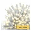 Kép 5/5 - EMOS Profi LED sorolható füzér, fehér, 10 m, meleg fehér, időzítő, IP44