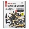 Kép 1/9 - EMOS Profi LED sorolható füzér, fekete süni, 3 m, meleg fehér, időzítő, IP44