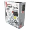 Kép 2/7 - EMOS Profi LED sorolható füzér, fehér jégcsapok, 3 m, hideg fehér, időzítő, IP44
