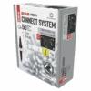 Kép 2/5 - EMOS Profi LED sorolható füzér, villogó, fehér jégcsapok, 3 m, hideg fehér, időzítő, IP44