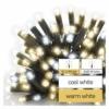 Kép 5/5 - EMOS Profi LED sorolható füzér, villogó jégcsapok, 3 m, meleg/hideg fehér, IP44