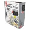 Kép 2/5 - EMOS Profi LED sorolható füzér, villogó, fehér, jégcsapok, 3 m, meleg/hideg fehér, IP44