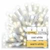 Kép 5/5 - EMOS Profi LED sorolható füzér, villogó, fehér, jégcsapok, 3 m, meleg/hideg fehér, IP44