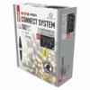 Kép 2/7 - EMOS Profi LED sorolható füzér, fehér jégcsapok, 3 m, meleg fehér, időzítő, IP44