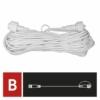Kép 3/8 - EMOS Hosszabbító kábel sorolható Profi fényfüzérekhez, fehér, 10 m, IP44