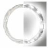 Kép 2/10 - EMOS LED karácsonyi nano fényfüzér, ezüst, 10 m, hideg fehér, időzítő, IP44