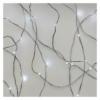 Kép 2/10 - EMOS LED karácsonyi nano fényfüzér, ezüst, 0.9 m, 2x AA, beltéri, hideg fehér, időzítő