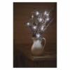 Kép 8/10 - EMOS LED karácsonyi nano fényfüzér, ezüst, 0.9 m, 2x AA, beltéri, hideg fehér, időzítő