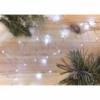 Kép 9/10 - EMOS LED karácsonyi nano fényfüzér, ezüst, 0.9 m, 2x AA, beltéri, hideg fehér, időzítő