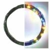 Kép 2/10 - EMOS LED karácsonyi nano fényfüzér, zöld, 7.5 m, többszínű, időzítő, IP44