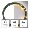 Kép 6/10 - EMOS LED karácsonyi nano fényfüzér, zöld, 4 m, meleg fehér, időzítő, IP44