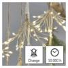 Kép 3/9 - EMOS LED fényfüzér fürtök, nano, 2.35 m, beltéri, meleg fehér, időzítő