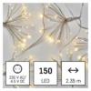 Kép 6/9 - EMOS LED fényfüzér fürtök, nano, 2.35 m, beltéri, meleg fehér, időzítő
