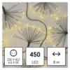 Kép 3/10 - EMOS LED fényfüzér fürtök, nano, 8 m, beltéri, meleg fehér, időzítő
