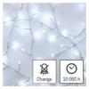 Kép 7/10 - EMOS LED karácsonyi nano fényfüzér süni, 2.4 m, 3x AA, beltéri, hideg fehér, időzítő
