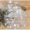 Kép 9/10 - EMOS LED karácsonyi nano fényfüzér süni, 2.4 m, 3x AA, beltéri, hideg fehér, időzítő