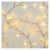 Kép 2/10 - EMOS LED karácsonyi nano fényfüzér süni, 2.4 m, 3x AA, beltéri, meleg fehér, időzítő