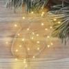 Kép 9/10 - EMOS LED karácsonyi nano fényfüzér süni, 2.4 m, 3x AA, beltéri, meleg fehér, időzítő