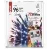 Kép 4/6 - EMOS LED karácsonyi fényfüzér, 10 m, RGB, távirányító, programok, időzítő, IP44