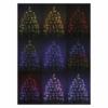 Kép 6/6 - EMOS LED karácsonyi fényfüzér, 10 m, RGB, távirányító, programok, időzítő, IP44