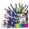 Kép 1/6 - EMOS LED karácsonyi fényfüzér, 12 m, RGB, távirányító, programok, időzítő, IP44