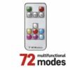 Kép 2/6 - EMOS LED karácsonyi fényfüzér, 12 m, RGB, távirányító, programok, időzítő, IP44