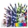 Kép 1/6 - EMOS LED karácsonyi fényfüzér, 16 m, RGB, távirányító, programok, időzítő, IP44