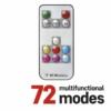 Kép 2/6 - EMOS LED karácsonyi fényfüzér, 16 m, RGB, távirányító, programok, időzítő, IP44