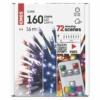 Kép 4/6 - EMOS LED karácsonyi fényfüzér, 16 m, RGB, távirányító, programok, időzítő, IP44