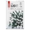 Kép 5/10 - EMOS LED karácsonyi fényfüzér, 12 m, hideg fehér, időzítő, IP44