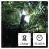 Kép 6/10 - EMOS LED karácsonyi fényfüzér, 12 m, hideg fehér, időzítő, IP44