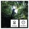 Kép 8/10 - EMOS LED karácsonyi fényfüzér, 24 m, hideg fehér, programokkal, IP44