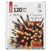 Kép 3/6 - EMOS LED karácsonyi fényfüzér, pulzáló, 12 m, vintage/piros, időzítő, IP44