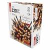 Kép 4/6 - EMOS LED karácsonyi fényfüzér, pulzáló, 12 m, vintage/piros, időzítő, IP44