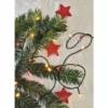 Kép 5/6 - EMOS LED karácsonyi fényfüzér, pulzáló, 12 m, vintage/piros, időzítő, IP44