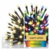 Kép 3/9 - EMOS LED karácsonyi fényfüzér 2 az 1-ben, 10 m, meleg fehér/többszínű, programozható, IP44