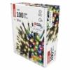 Kép 6/9 - EMOS LED karácsonyi fényfüzér 2 az 1-ben, 10 m, meleg fehér/többszínű, programozható, IP44