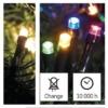 Kép 7/9 - EMOS LED karácsonyi fényfüzér 2 az 1-ben, 10 m, meleg fehér/többszínű, programozható, IP44